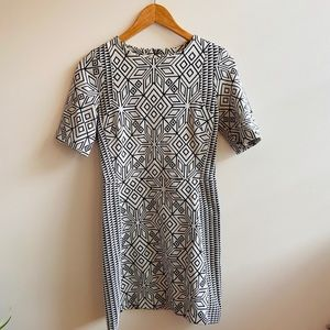 H&M Abstract dress SIZE 8